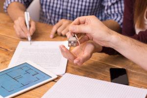 receiving house keys